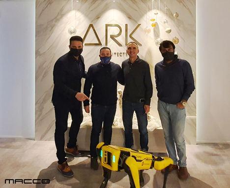 ARK Architects y Macco Robotics impulsan el uso de robótica humanoide en sus Villas