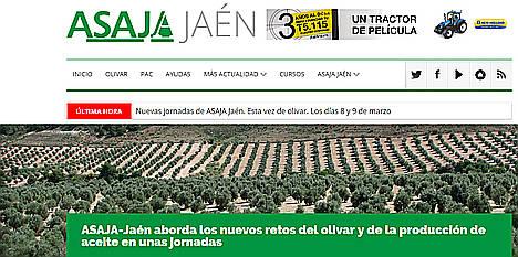 Asaja-Jaén ha indemnizado al 100% de los agricultores que contrataron los nuevos seguros paramétricos para evitar las consecuencias de la sequía en el olivo