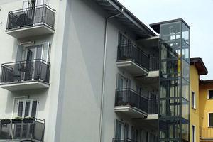 El uso de ascensores en oficinas y casas particulares