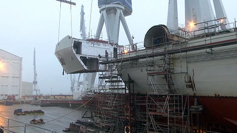 Telefónica y Navantia convierten el astillero de Ferrol en el primero de Europa con 5G para la construcción y reparación de buques