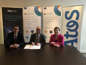 Atos gana un acuerdo para establecer el Centro de excelencia de supercomputación en Gales