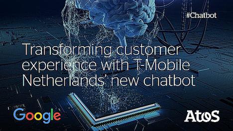 Atos y Google Cloud crean un Chatbot basado en Inteligencia Artificial para T-Mobile NL para aumentar la satisfacción del cliente