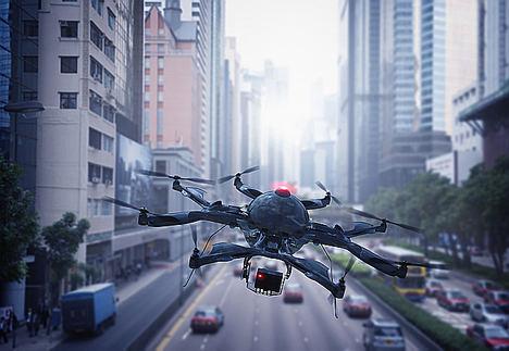 Los hospitales públicos de París y Nantes utilizarán drones para el envío de medicamentos
