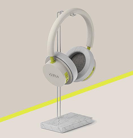 La startup española Dotts lanza los primeros auriculares fabricados con impresora 3D