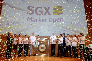 ayondo es la primera compañía FinTech del mundo que cotiza en la Bolsa de Singapur –SGX-
