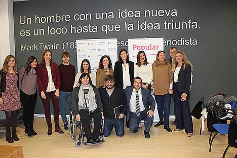 Banco Popular y Cátedra Konecta-URJC acercan los microcréditos 'Apostamos por ti-Tercer Sector' al emprendedor con discapacidad