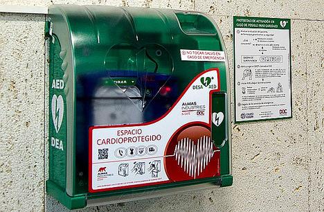 Extremadura, la segunda comunidad con más desfibriladores por habitante