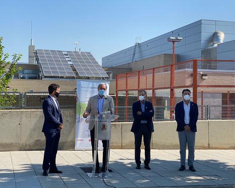 Arranca en Zaragoza la instalación del primer Barrio Solar de España