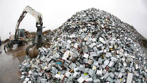 La basura electrónica ya es la principal amenaza para el planeta