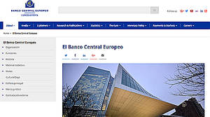 El BCE recomienda la modificación del artículo 22 de sus Estatutos