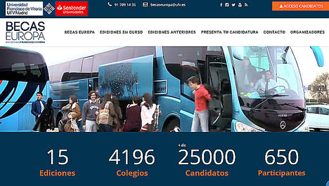Los 200 mejores estudiantes españoles de bachillerato compiten por una de las Becas Europa