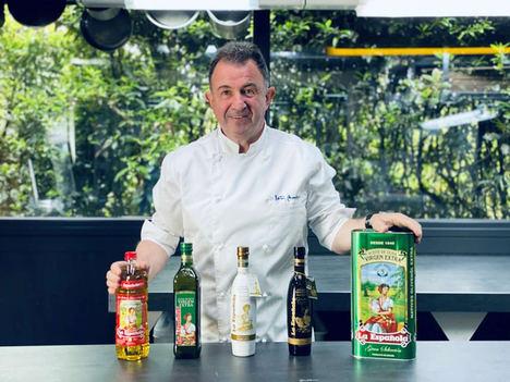 Martín Berasategui se convierte en embajador de Aceites de oliva La Española
