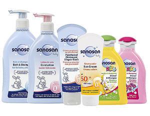 La cosmética infantil con ingredientes naturales de sanosan llega a España