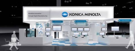 Konica Minolta llevará sus soluciones de fabricación digital a Hannover Messe 2017