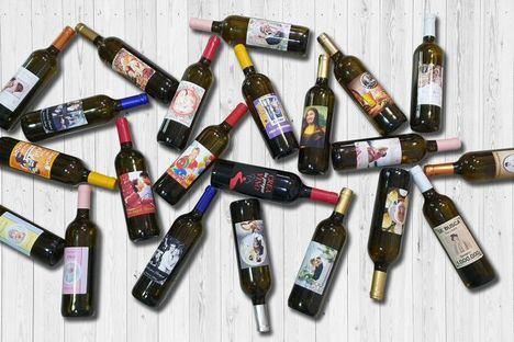 Regalar vinos personalizados