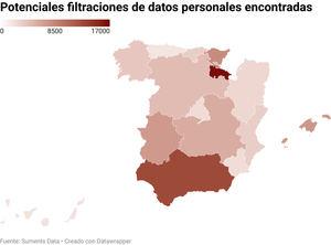 Detectan varias brechas de datos personales en las webs de La Moncloa y los Gobiernos Autonómicos