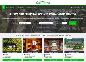 Nace el primer buscador de instalaciones para campamentos en España