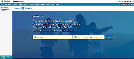 CaixaBank y Booking.com se alían para que los clientes de la entidad obtengan un ahorro en sus reservas de viajes