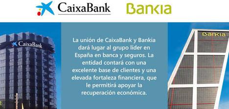 Los Consejos de Administración de CaixaBank y Bankia aprueban su proyecto de fusión para crear el banco líder en España