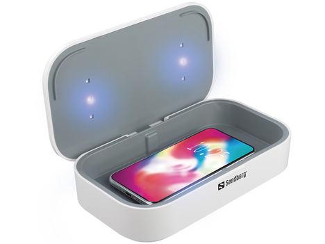 Mantén tus objetos libres de bacterias con la nueva caja esterilizadora UV de Sandberg