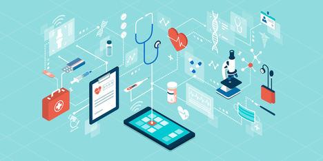 La fibra aérea da acceso a Internet a los hospitales de campaña