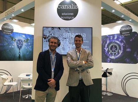 Canalis, participada por Carlos Negreira, presente en Smagua Zaragoza