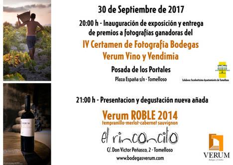 El viñedo es protagonista para mostrar la esencia del vino en el IV Certamen Bodegas Verum Vino y Vendimia