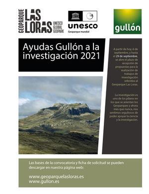 Galletas Gullón financia una beca de investigación del Geoparque UNESCO Las Loras