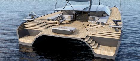 BlackCat Superyachts presenta su innovador último modelo de lujo y altas prestaciones: un catamarán de crucero de 30 metros