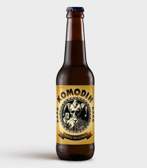 La primera cerveza nacional negra y sin alcohol, es artesana