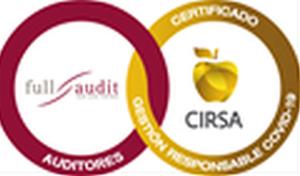 La multinacional CIRSA obtiene el Sello de Gestión Responsable COVID-19 de la auditora Full Audit