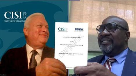 La Comisión Reguladora de Valores del Caribe Oriental establece un nuevo régimen de cualificaciones con el CISI para mejorar la profesionalidad en los ocho países de la región