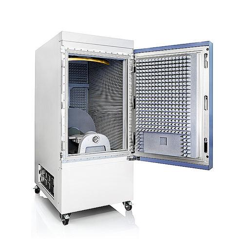 Sierra Wireless selecciona la cámara de test R&S ATS1800C con reflector dorado para los test del 5G NR FR2