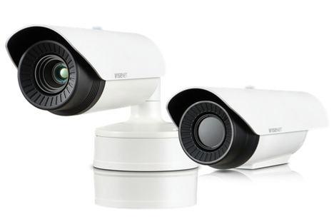 Nuevas cámaras térmicas radiométricas Wisenet T con medición de temperatura