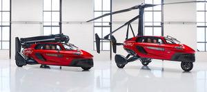 El primer coche volador comercial del mundo, el PAL-V Liberty hará su presentación en el Automobile Barcelona