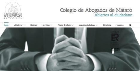 La decana del Ilustre Colegio de Abogados de Mataró critica las medidas del Ministerio para descongestionar la justicia