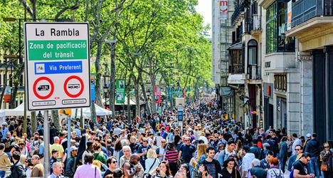 Los comercios ubicados en calles peatonales facturan un 30% más