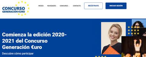 Comienza la edición 2020/2021 del concurso Generación €uro