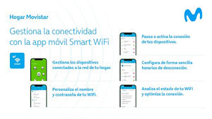 Movistar incorpora el control parental de la red WiFi en su app móvil Smart WiFi