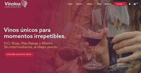 Corporación Vinoloa busca posicionarse en el mercado de vino online con su nueva apuesta de eCommerce