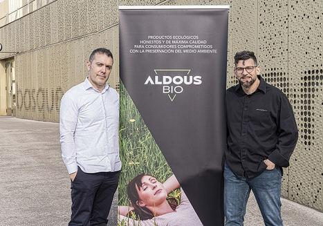 Antonio Pellón, creador de Aldous y el chef Jesús Segura.