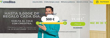 Creditea pone en marcha una iniciativa de educación financiera para mejorar el conocimiento de los españoles