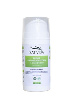Sativida presenta su crema de cannabidiol (CBD)