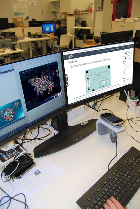 El CTCR dona la potencia de sus servidores informáticos para la erradicación del Coronavirus