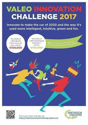 Cuenta atrás para registrarse en Valeo Innovation Challenge 2017