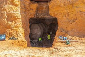 Arqueología del vino en Tomelloso con la recuperación de tinajas centenarias