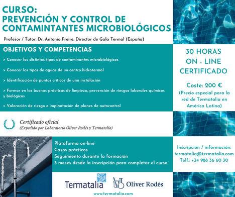 Termatalia y el Laboratorio Dr. Oliver Rodés ponen en marcha el curso