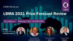 Sobre la previsión de precios de los metales preciosos para 2021