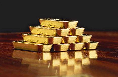 Degussa ofrece la posibilidad de personalizar los lingotes de oro, plata, platino, paladio y cobre