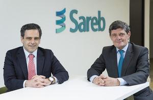 De izqda. a dcha.: Javier Garcia del Rio y Jaime Echegoyen.